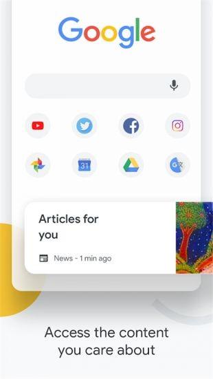谷歌浏览器截图0
