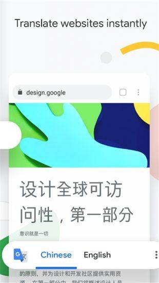 谷歌浏览器截图1