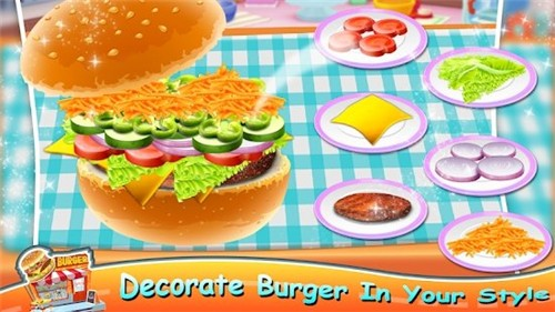 比萨汉堡烹饪大师截图2
